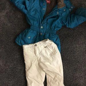 Gap winter snow pant and euro jacket